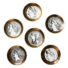 Fornasetti Coaster Set of Six