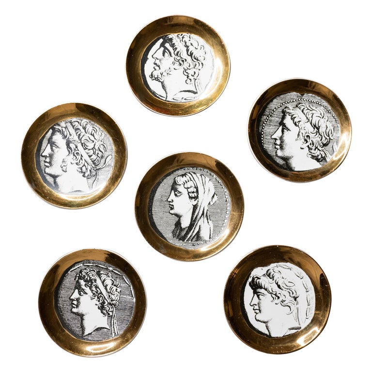Fornasetti Coaster Set of Six