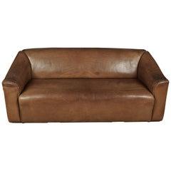 Midcentury Three-Seat Sofa Manufactured by De Sede, Switzerland, Model DS 47