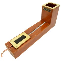 Herschel Actinometer Made in the 1930s of Wood and Brass