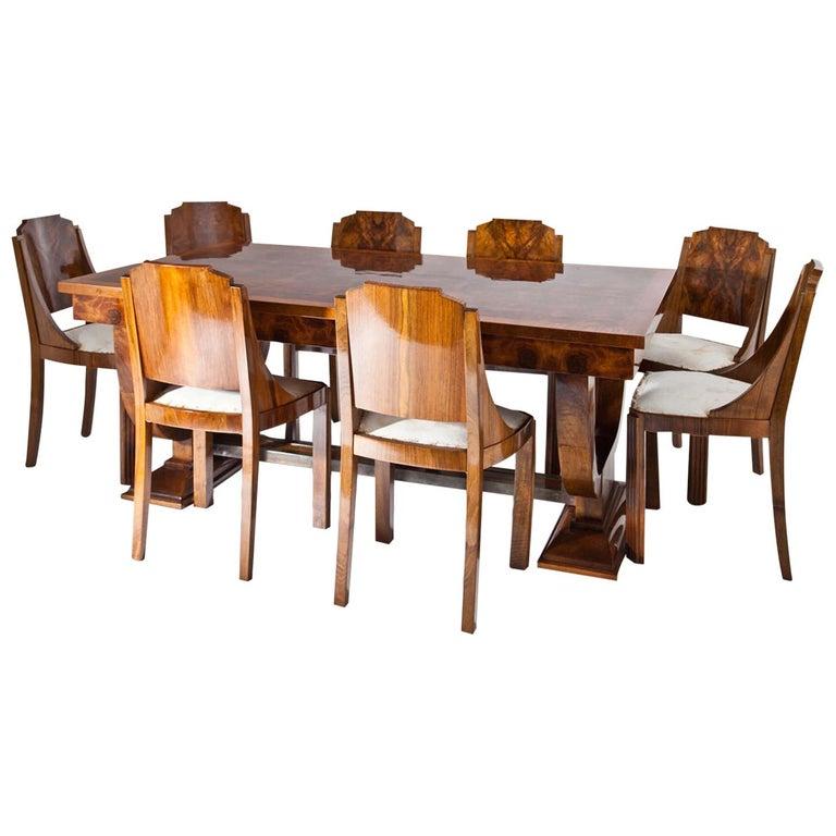 Art Deco Dining Room Ensemble, 1920s