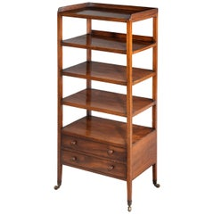 George III Period Five-Tier Etagere