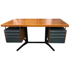 Desk by Daciano da Costa for Metalurgica da Longra