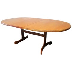 English 1970s Midcentury Extending Dining Table by G Plan