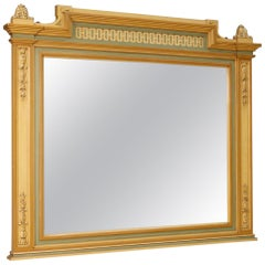 Italian Mirror in Painted Wood in Louis XVI Style from 20th Century