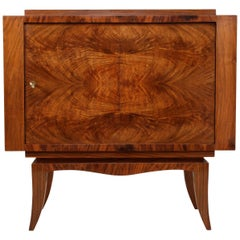 Art Deco Revolving Cocktail Cabinet