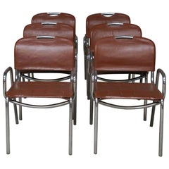Six Castiglia Chairs by Zanotta, circa 1968