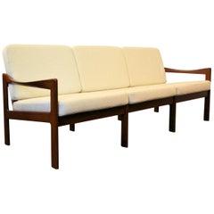 Illum Wikkelsø Teak Three-Seating Sofa