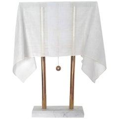 Takahama 'Nefer 1' Modern Golden Table Lamp for Sirrah, Italy, 1980s