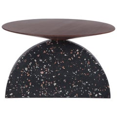 Colima Low Coffee Table Terrazzo, Contemporary Mexican Design