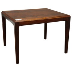 Johannes Andersen for Silkeborg 1960s a Danish Design Rosewood Occasional Table