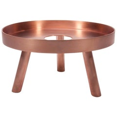 Contemporary Copper Small Serving Tray Decorative Sculpture Lift, Too, in Stock