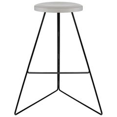 Coleman Stool, Black and Ecru, Counter Height, 54 Variations Available