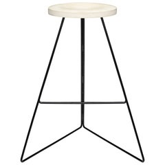 The Coleman Stool - Black and Maple, Counter Height. 54 Variations Available.