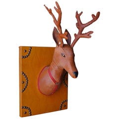 1950s Novelty Mounted Toy Stag Head