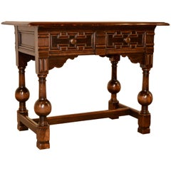 19th Century English Library Table