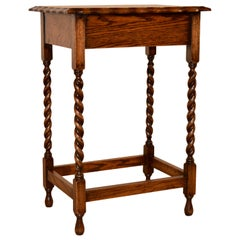Oak Occasional Table, circa 1900