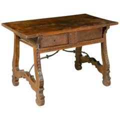 Spanish Walnut Table, circa 1630