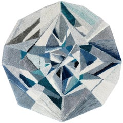 """Diamond"" Gemstone Wool Rug / Tapestry / Wall Hanging by Camilla Iliefski"