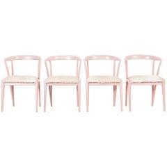 Set of Bertha Schaefer Dining Chairs