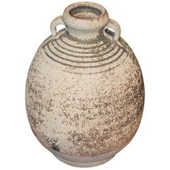 18th Century Hand Made Two Handled Vase, Cambodia