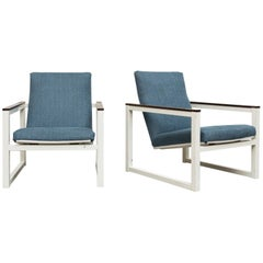 Pair of Kramer or Reijenga Cube Chairs