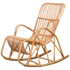 Rohe Noorwolde Bamboo Rocking Chair