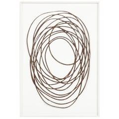 Neal Perbix, Limited Edition Walnut Veneer Drawing, Fine Art Painting