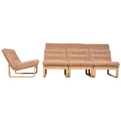 Sectional Sofa by Rud Thygesen & Johnny Sorensen for Magnus Olsen, Durup, 1960s