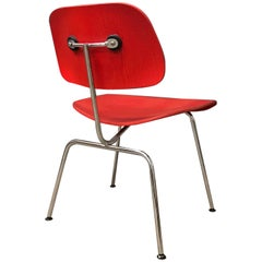 1946, Ray and Charles Eames for Vitra, DCM Chair in Red Vernish
