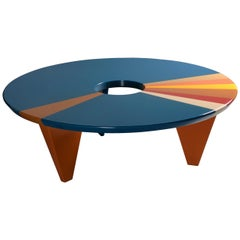From Above Table in Wood, Made in Italy