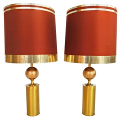 Large Pair of Lyma Table Lamps, Spain, 1970