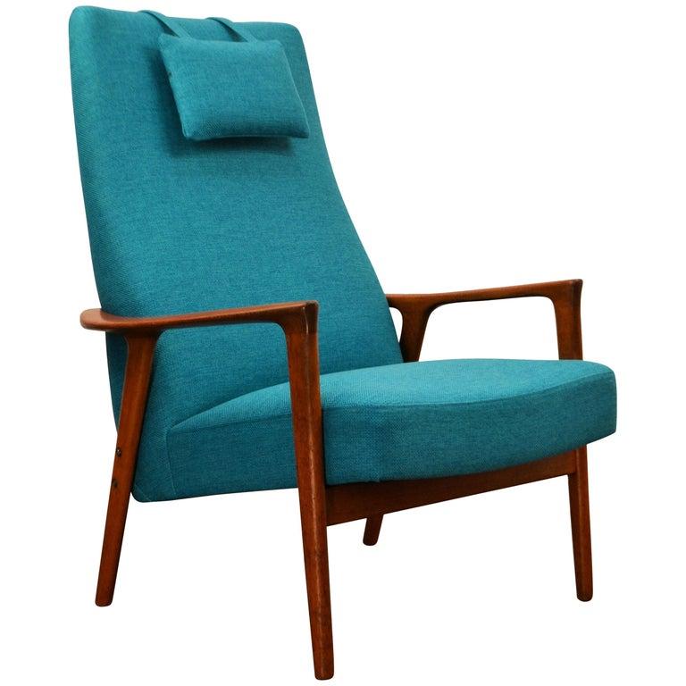 Bröderna Andersson Teak Lounge Chair