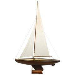 Mahogany Sloop Made in the 1930s