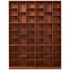 Bookshelf by Peter Hvidt & Orla Mølgaard-Nielsen for Søborg Møbelfabrik