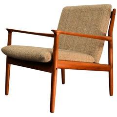 Grete Jalk Teak Lounge Chair