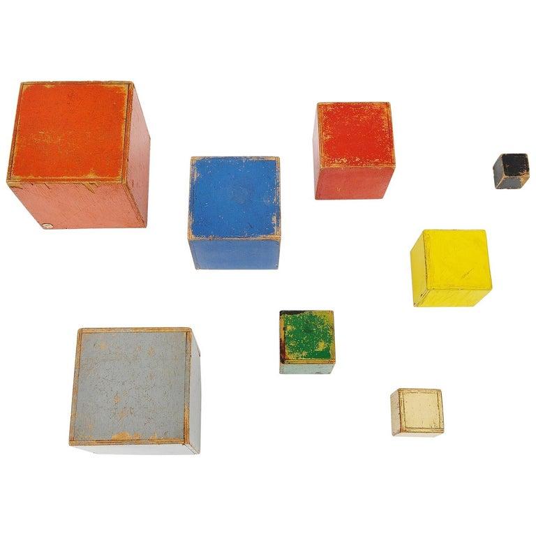 Ado Cubes Set Ko Verzuu Holland, 1937