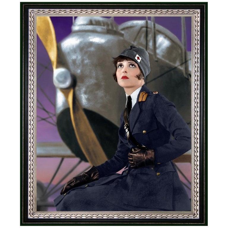 Original It Girl Clara Bow, after Hollywood Regency Photo, by George Hommel
