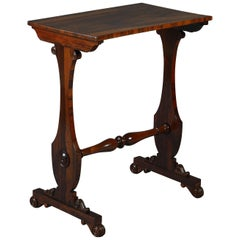 Early 19th Century Regency Period Rosewood Occasional Table