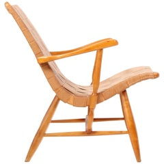 "Midcentury Yngve Ekström Easy Chair Model ""Anders"""