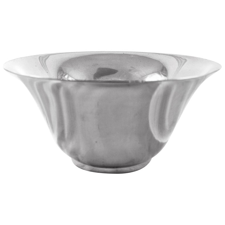 Sterling Midcentury Tiffany Bowl