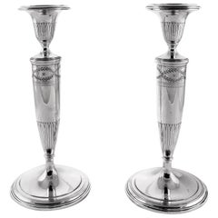 Tiffany Sterling Candlesticks