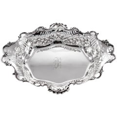 Sterling Victorian Dish
