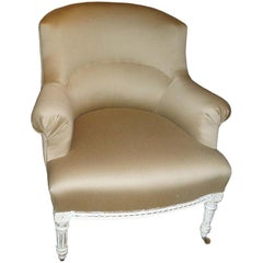 Upholstered Paris Chair, 19th Century