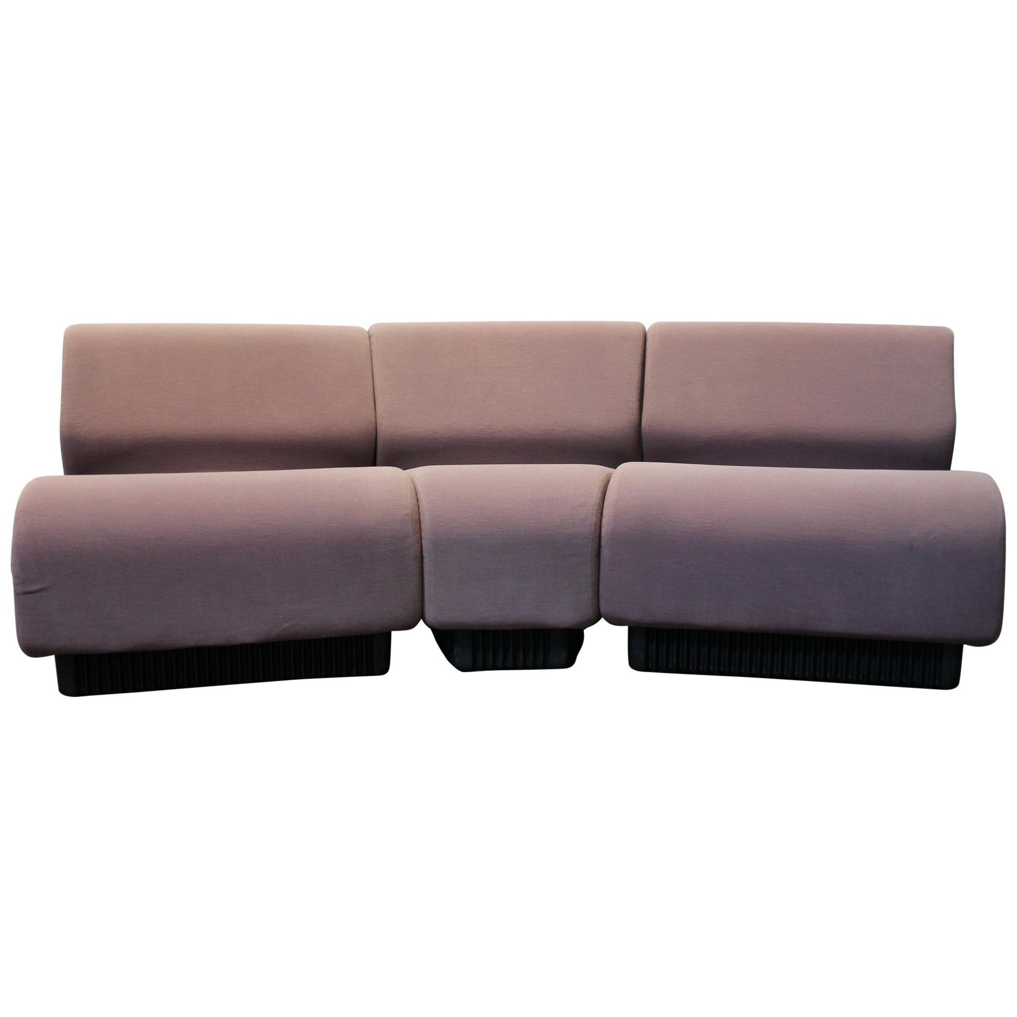 Modern Modular Settee Sofa By Don Chadwick For Herman Miller