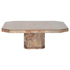 Russet Marble Coffee Table