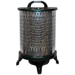 1930s Wesix Vintage Aluminium Electric Heater