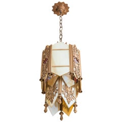 Art Deco Chandelier or Pendant, circa 1930s