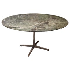 Florence Knoll Marble Top Round Table