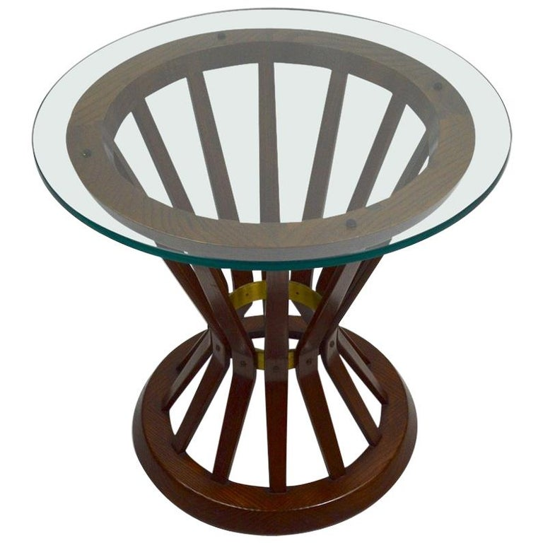 Sheaf of Wheat Table by Wormley for Dunbar